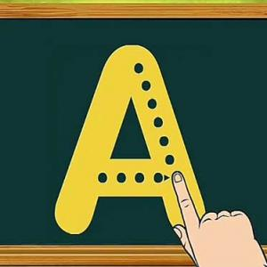 Dotted Alphabet