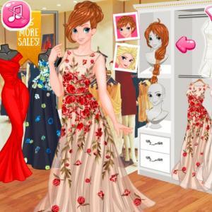 Princesses Spring Casual Dressup