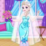 Princess Elsa Wedding Preparation